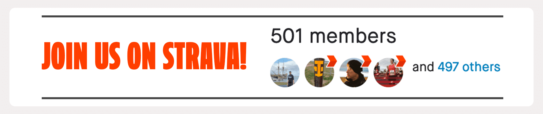 Join the Marathon Sports Strava Group